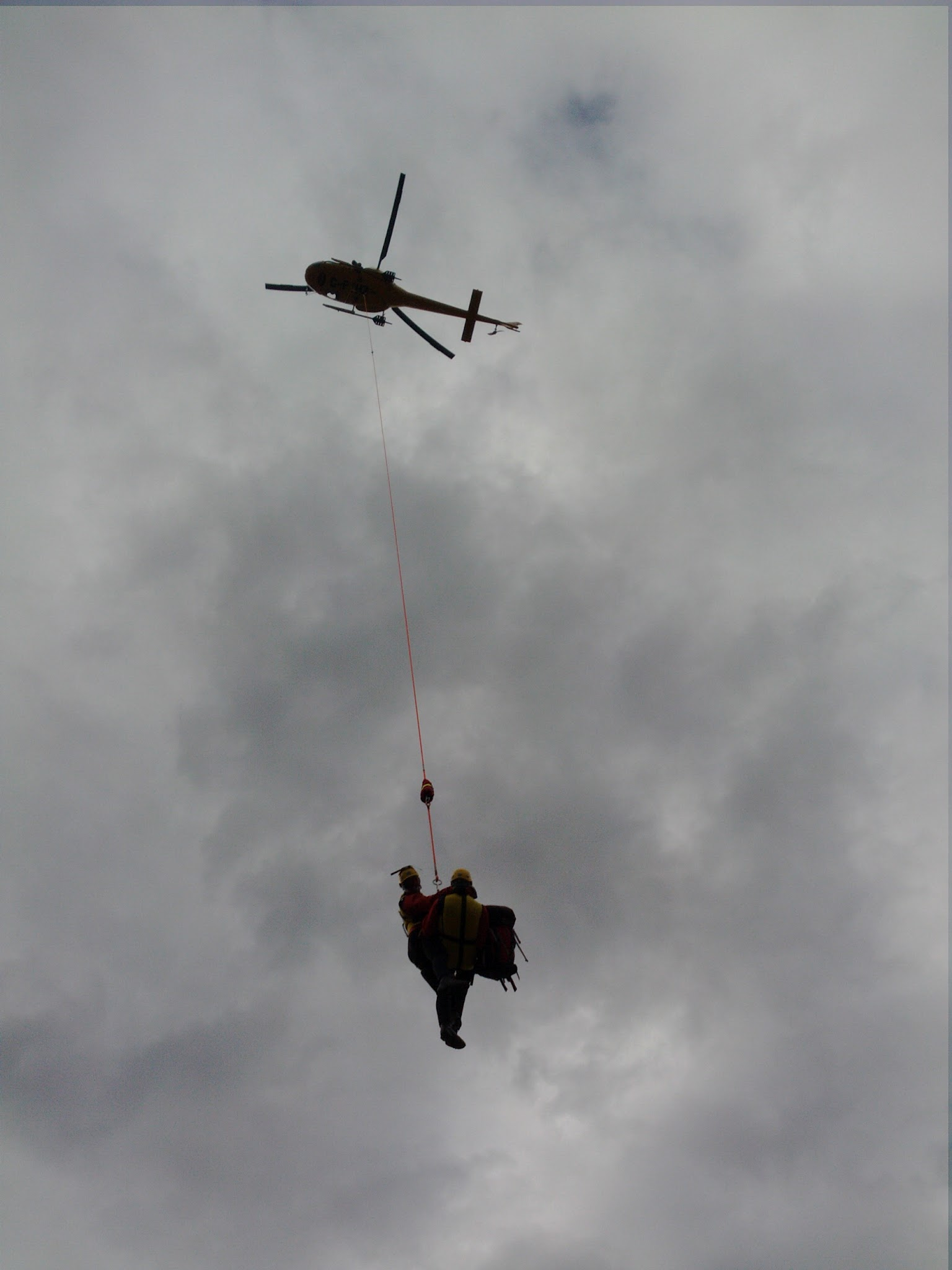 Helicopter Rescue Drill and Recertification