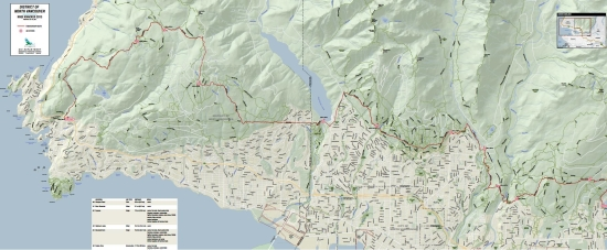 Knee Knacker course map leaves out grid lines