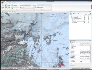 TrueNorth Screenshot showing Bin Aerial layers and iMapBC WMS layer