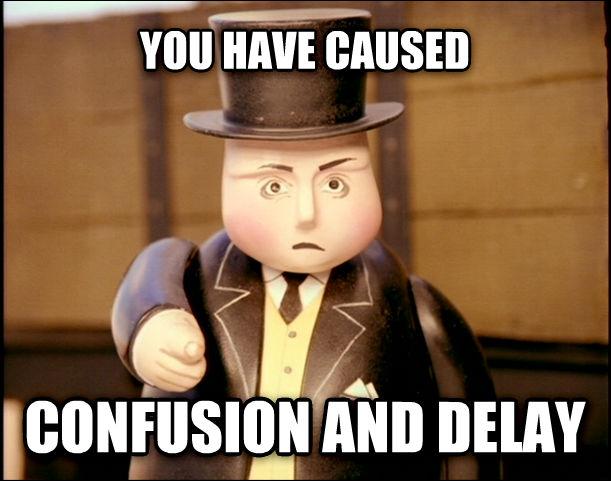 Confusion and Delay